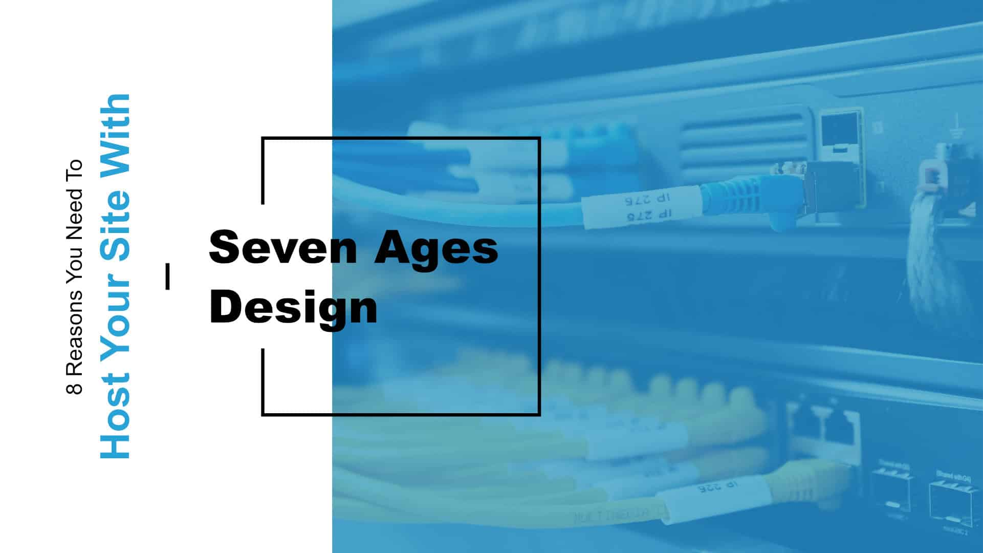 8 Reasons You Need to Host Your Website with Seven Ages Design Featured Image