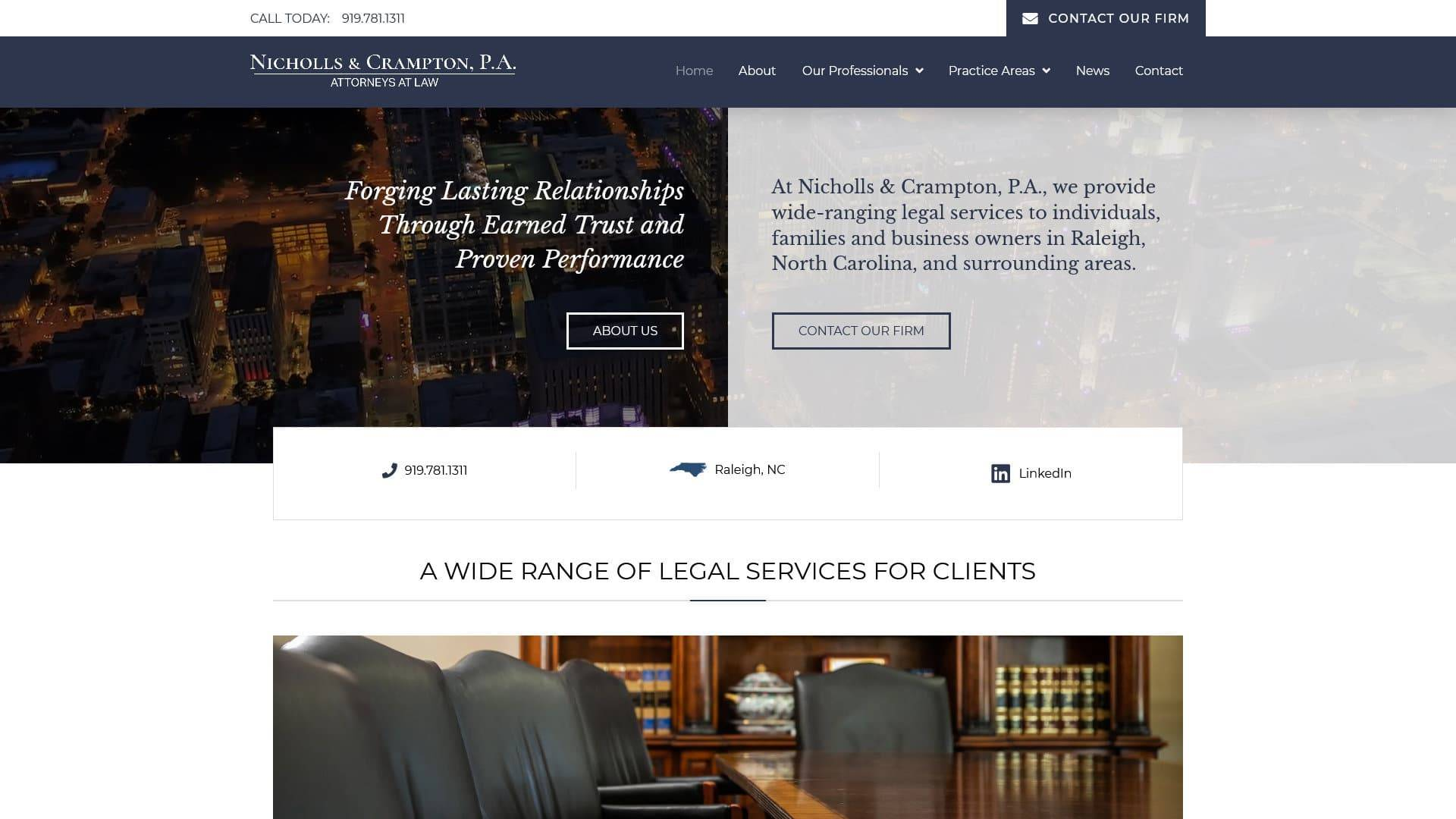 """Nicholls & Crampton Case Study"" Featured Image"