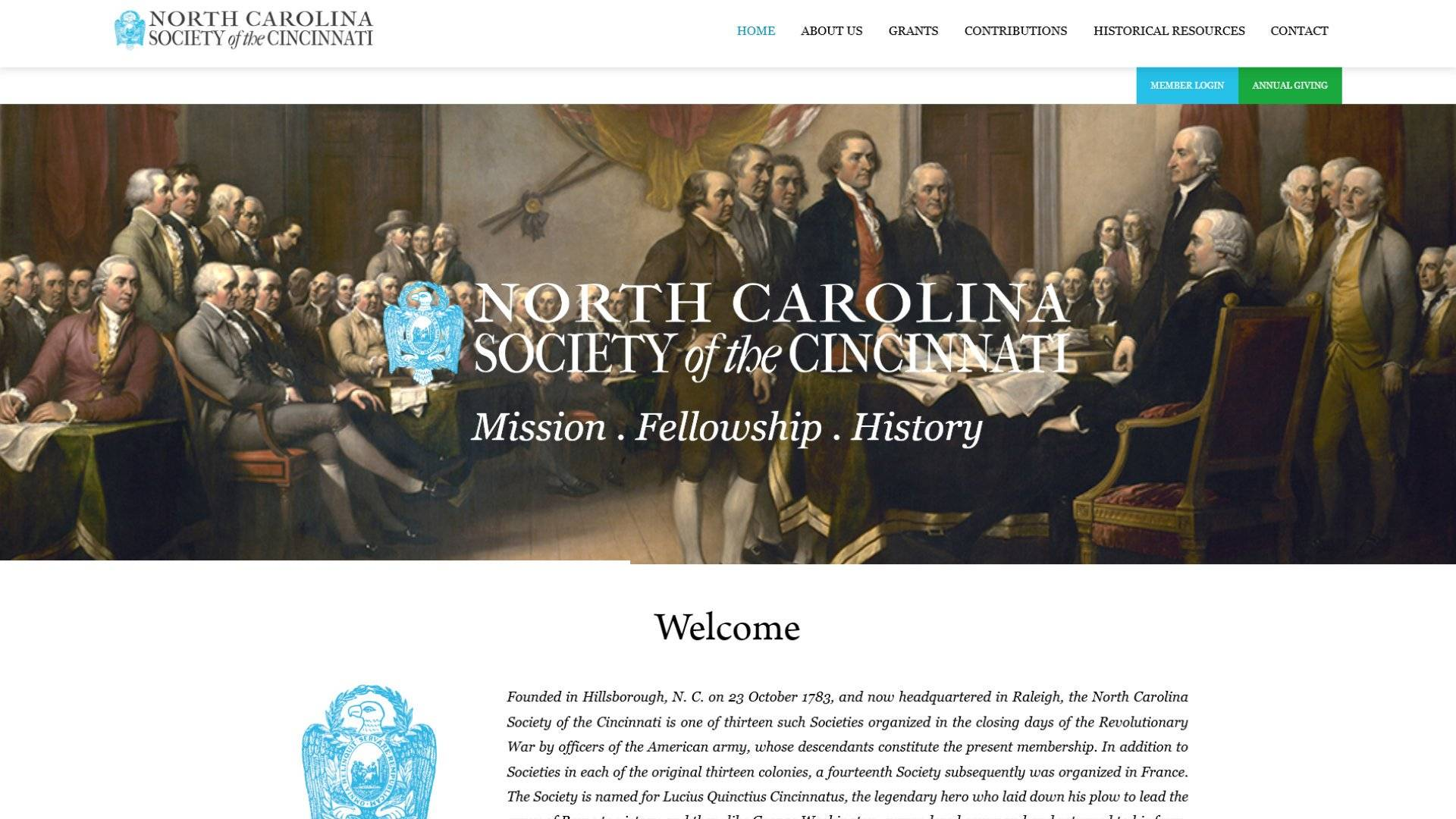 NC Society of the Cincinnati Case Study Placeholder Image