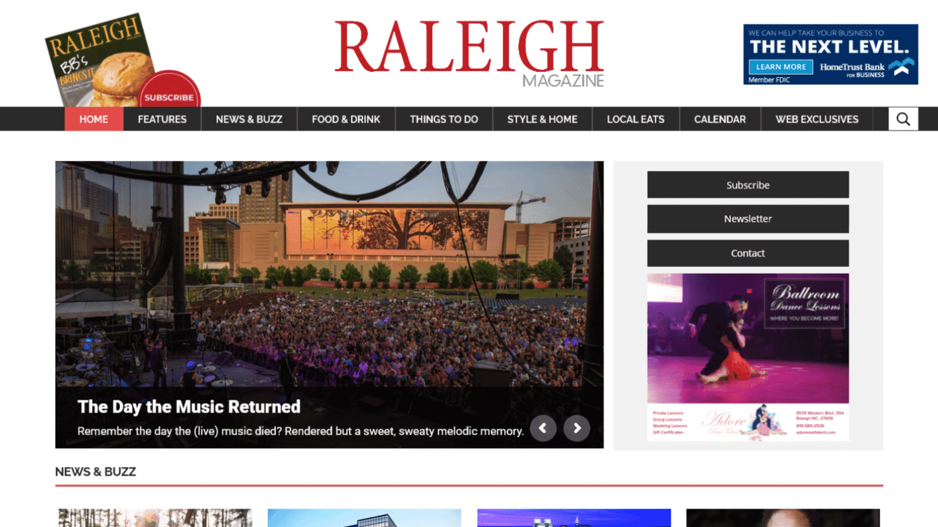 """""""Raleigh Magazine Case Study"""" Featured Image"""